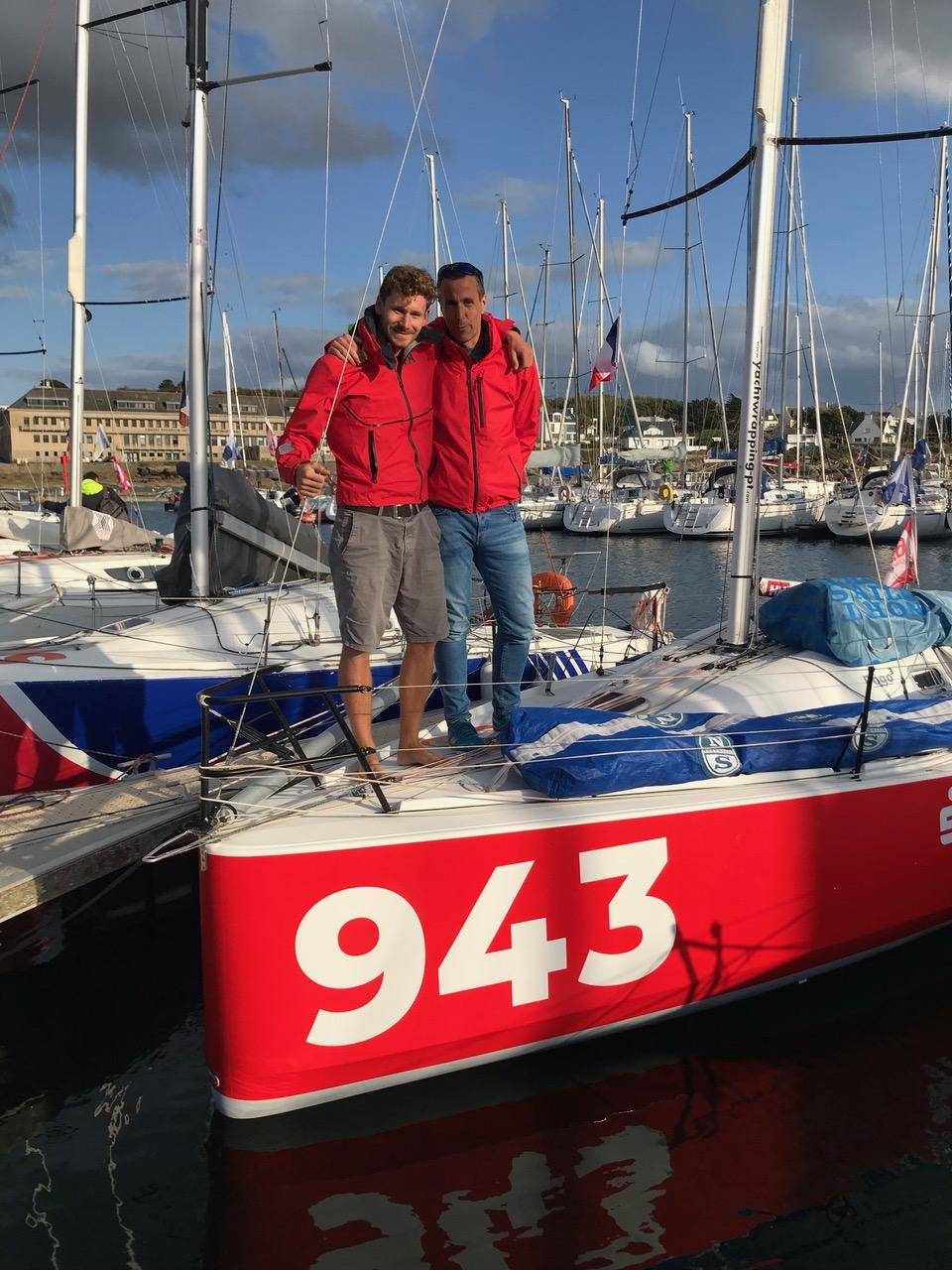 Oliver & Lennart beim Duo Concarneau