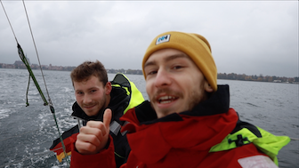 BootsProfis zu Besuch bei Lennart