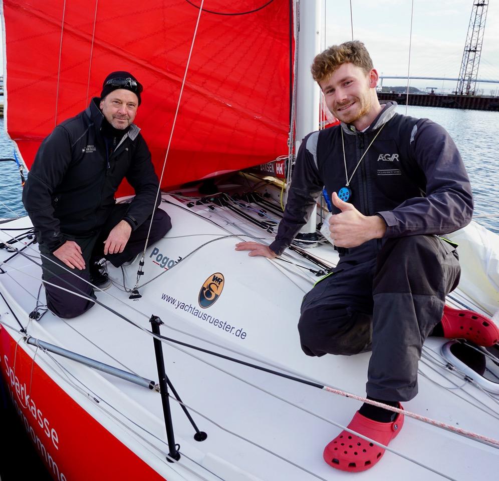WENDEL & RADOS an Bord der Vorpommern